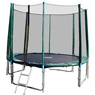 GoodJump 4UPVC green 366 cm trampoline with safety net + ladder - Trampoline