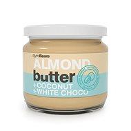GymBeam Almond Cream with Coconut and White Chocolate, 340g - Nut Cream