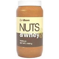 GymBeam Proteínové arašídové máslo Nuts&Whey vanilka 1000g