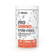 GymBeam ProAMINO stim-free 390g, lemon lime