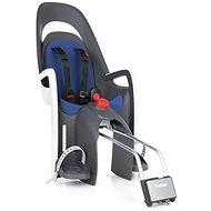 Hamax Caress tmavě šedá/modrá - Dětská sedačka na kolo