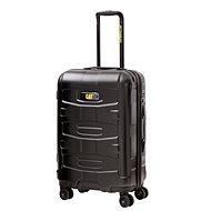 CAT trolley polykarbonát černý 59,5l - Cestovní kufr s TSA zámkem