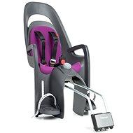 Hamax Caress šedá / fialová - Dětská sedačka na kolo