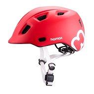 Hamax Thundercap street červená / stříbrné pásky - Helma na kolo