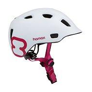 Helma na kolo Hamax Thundercap street bílá / růžové pásky