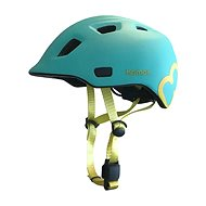 Helma na kolo Hamax Thundercap street tyrkysová / žluté pásky