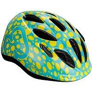 Hamax Skydive cyklo zelenožlutá / žluté pásky 45-50 cm - Helma na kolo