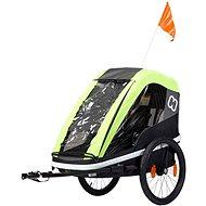 Hamax Avenida One lime - Vozík za kolo