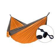 Hamaka Camping SET  (oranžová)+Tree strap
