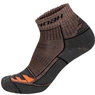 Hannah Walk Lite hnědé/ oranžové - Ponožky
