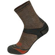 Hannah Walk hnědé/ šedé - Ponožky