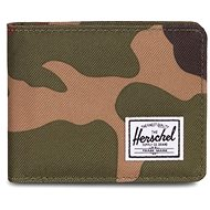 Herschel Roy + Coin RFID Woodland Camo - Peněženka