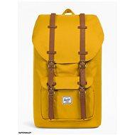 Herschel Little America Arrowwood/Tan Synthetic Leather - Městský batoh