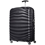 Samsonite Spinner 81/30 Black - LITE-SHOCK 1 - Suitcase with TSA-Approved Lock