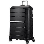 Samsonite Flux SPINNER 81/31 EXP Black - Cestovní kufr s TSA zámkem