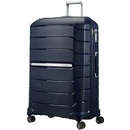 Samsonite Flux SPINNER 81/31 EXP Navy Blue - Cestovní kufr s TSA zámkem