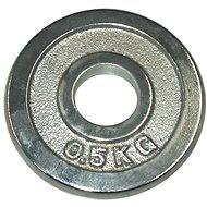 Acra Závaží chromové 0,5 kg / tyč 25 mm - Kotouč