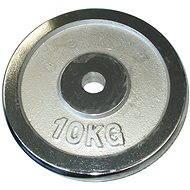Acra Závaží chromové 10 kg / tyč 25 mm - Závaží na činky