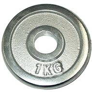 Acra Chrome weight 1kg/25mm disc - Gym Weight