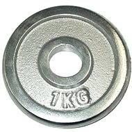 Acra Závaží chromové 1 kg / tyč 25 mm - Závaží na činky