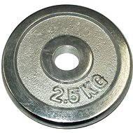 Acra Závaží chromové 2,5 kg / tyč 25 mm - Kotouč