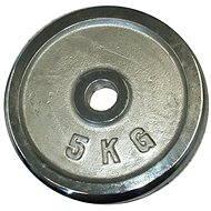 Acra Závaží chromové 5 kg / tyč 25 mm - Kotouč
