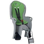Hamax Kiss šedá/zelená - Dětská sedačka na kolo