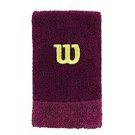 Wilson Extra WIDE W Wristband Purple/Boyse OSFA - Potítko