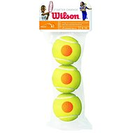 Wilson STARTER ORANGE TBALL 3 PACK - Tenisový míč