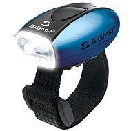 Sigma Micro modrá / přední světlo LED-bílá - Světlo na kolo