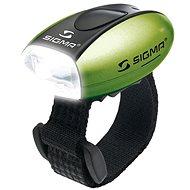 Sigma Micro zelená / přední světlo LED-bílá - Světlo na kolo