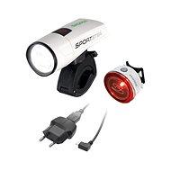 Sigma Sportster + Mono RL bílá - Světlo na kolo
