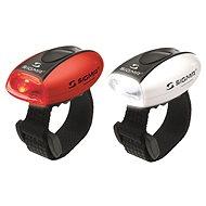 Sigma Sada Micro červená + bílá / LED-červená + bílá - Světlo na kolo