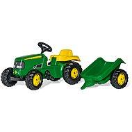 Rolly Kid J.Deere s vlečkou - Šlapací traktor