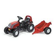 Rolly Kid Valtra s vlečkou - Šlapací traktor