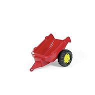 Vlečka za traktor 1osá - červená - Šlapací traktor
