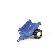 Vlečka za traktor 1osá - modrá - Šlapací traktor