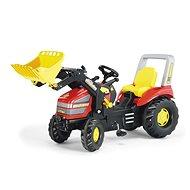 X - track s nakladačem - Šlapací traktor