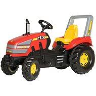 X-Trac červený - Šlapací traktor