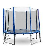 GoodJump 4UPVC modrá trampolína 305 cm s ochrannou sítí + žebřík - Trampolína