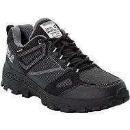 Jack Wolfskin Downhill Texapore low W černá/šedá - Trekové boty