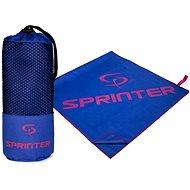 SPRINTER ručník z mikrovlákna 100x160 cm, modro-růžový - Ručník