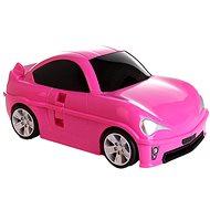 Dětský kufr AUTO (růžová), PD Toys 1704, 49 x 27 x 21cm
