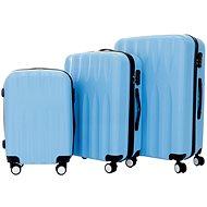 Set of 3 cases T-class TPL-3029, M, L, XL, ABS, (light blue)