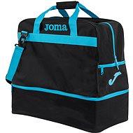 Joma Trainning III black-fluor turquoise - L - Sportovní taška
