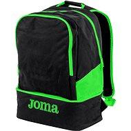 Joma Backpack Estadio III black-fluorescent green - Sports Backpack