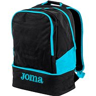 Joma Backpack Estadio III black-fluor turquoise - Sportovní batoh