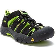 KEEN NEWPORT H2 K black/lime green - Sandals