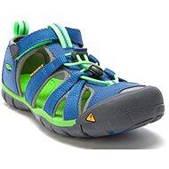 KEEN SEACAMP II CNX JR. true blue/jasmine green - Sandals