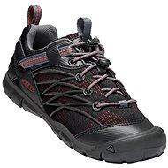 Keen Chandler CNX Youth raven/fiery red - Trekové boty